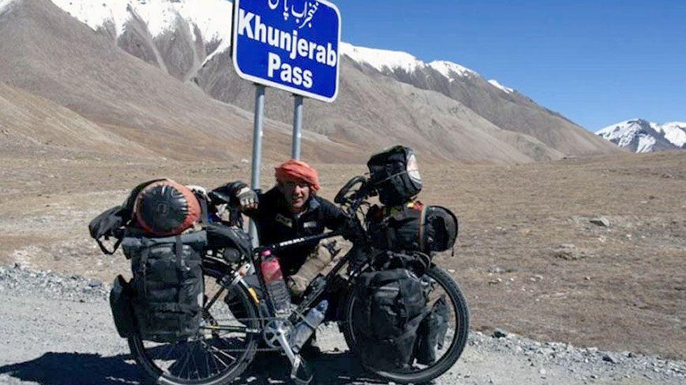 Álvaro Neil, en la frontera de Pakistán.Álvaro Neil, en la frontera de Pakistán