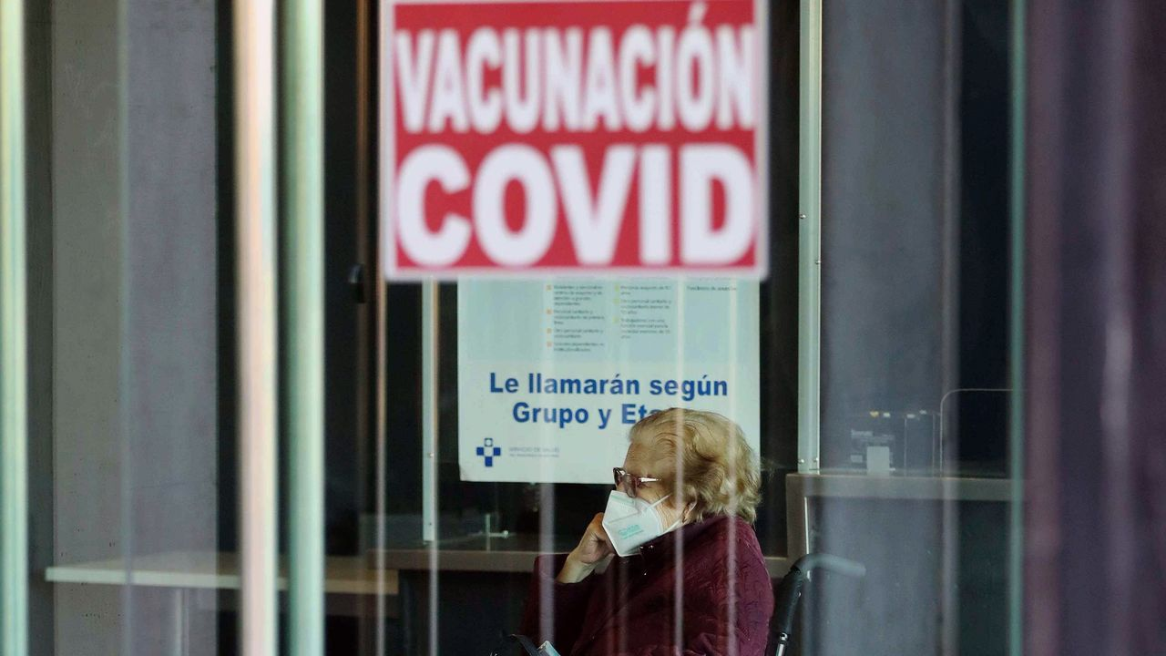 Vacuna contra el covid en Avilés