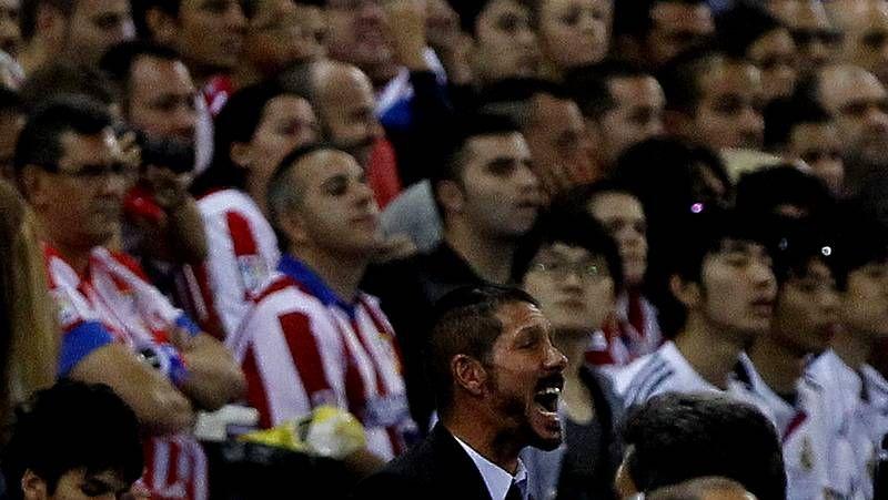 Simeone, algo más que pasión colchonera.Benatia, contra el Madrid