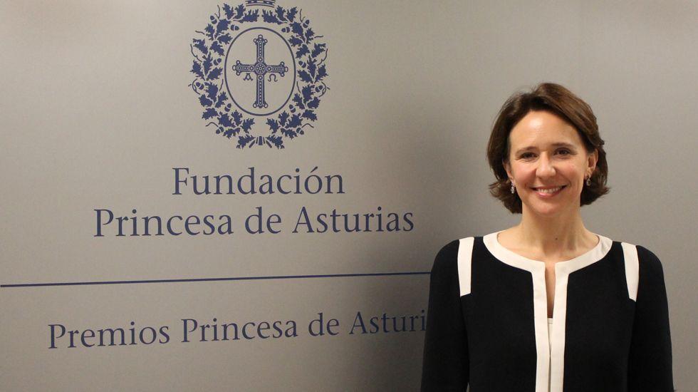 El ensayo de la OSPA junto con el maestro José Ramón Encinar.Teresa Sanjurjo