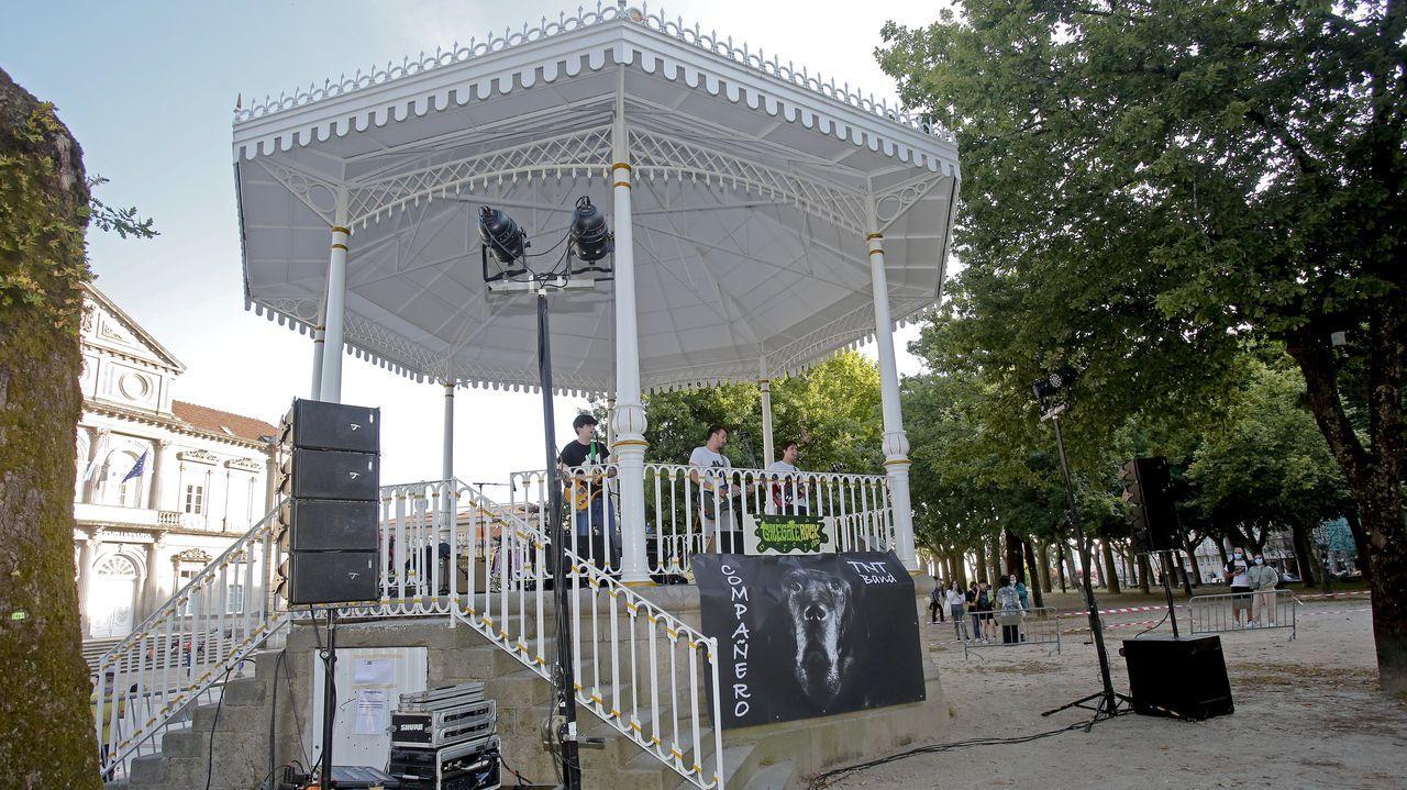 Habrá conciertos en el Palco de La Alameda.