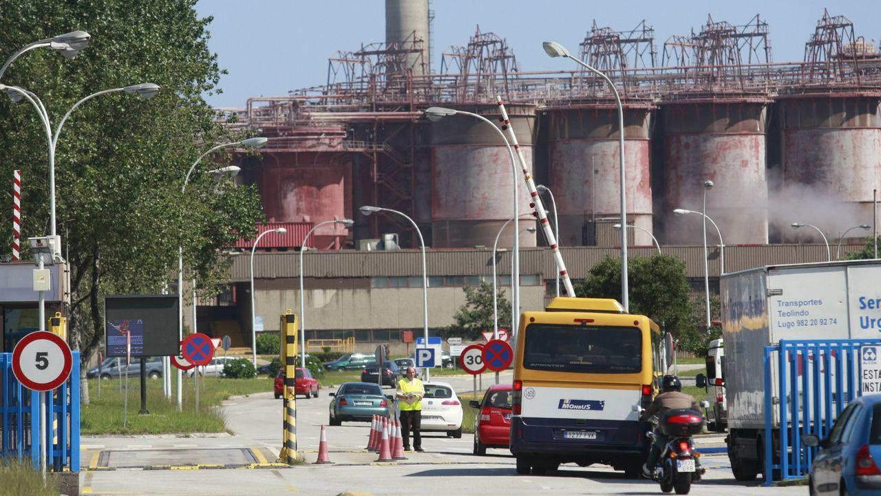 Alcoa, una de las empresas gallegas con más consumo de energía