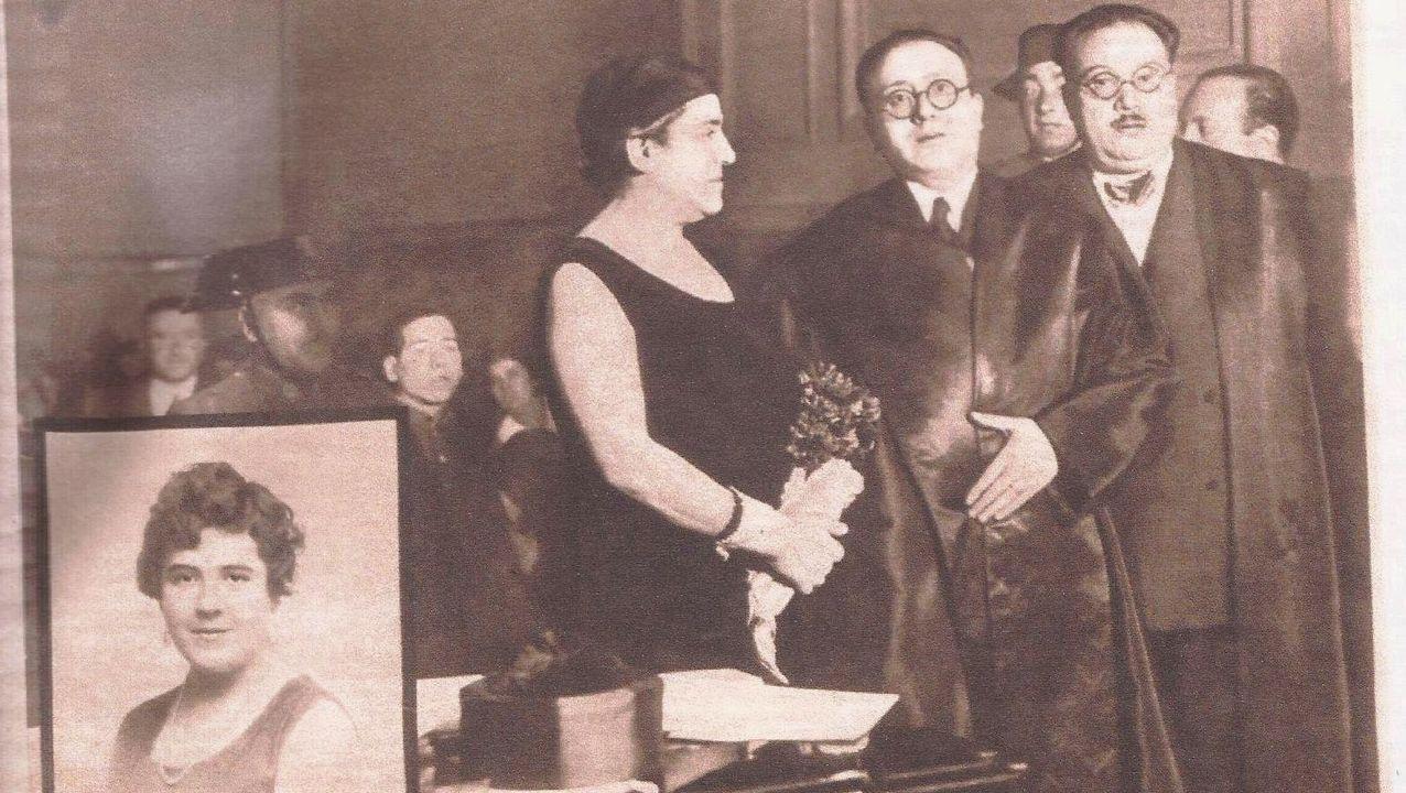 Imagen del juicio de Aurora Rodríguez Carballeira