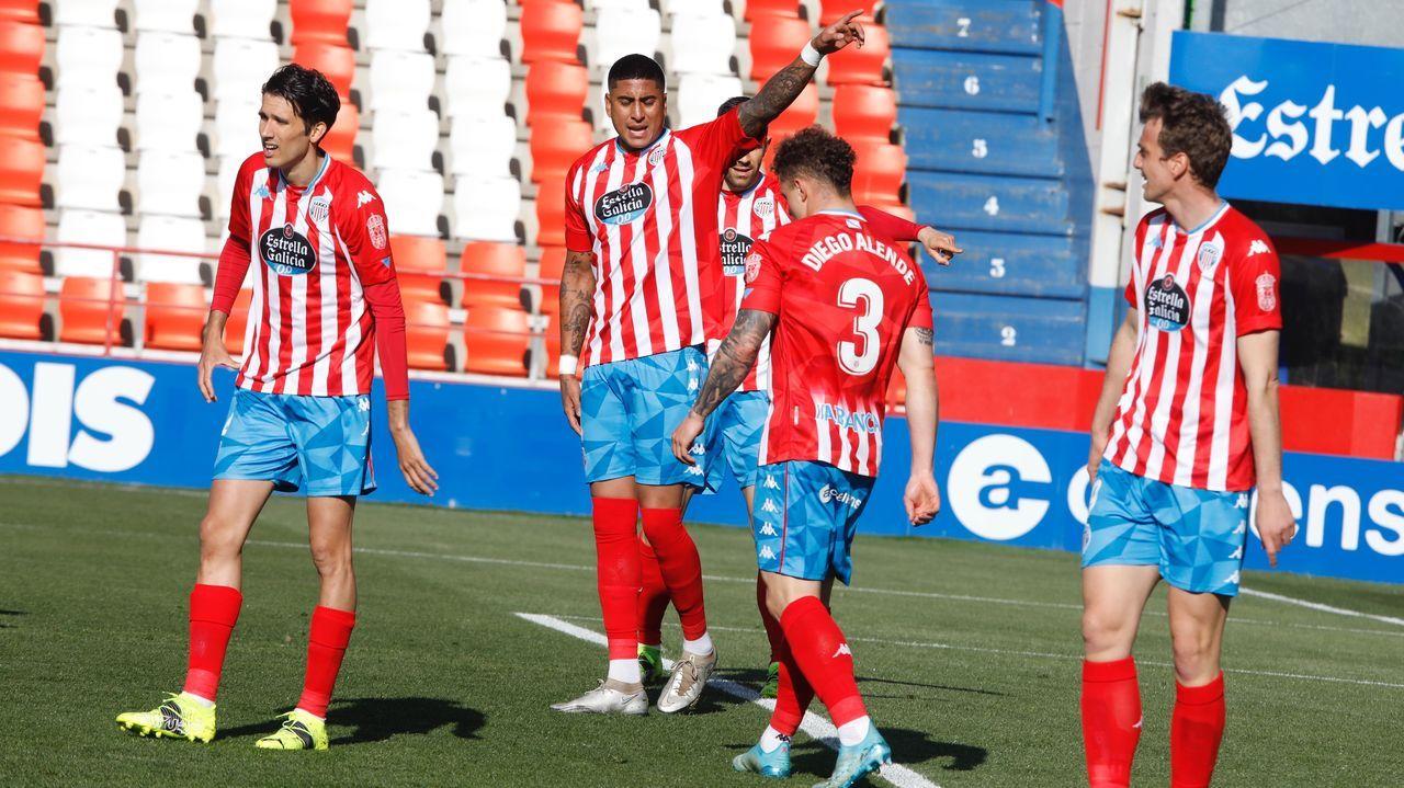 Nieto Araujo Real Oviedo Las Palmas Carlos Tartiere.Ziganda, durante el Oviedo-Lugo