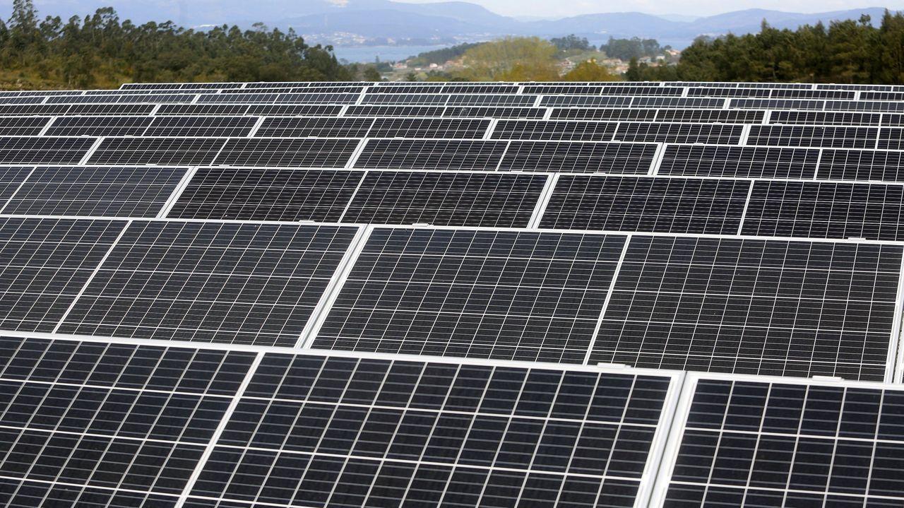 La estación de aguas de la Mancomunidade do Salnés en Treviscoso emplea placas solares