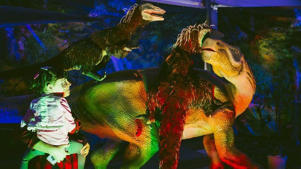 La exposición «Dinosaurs Tour» estará abierta hasta el día 23