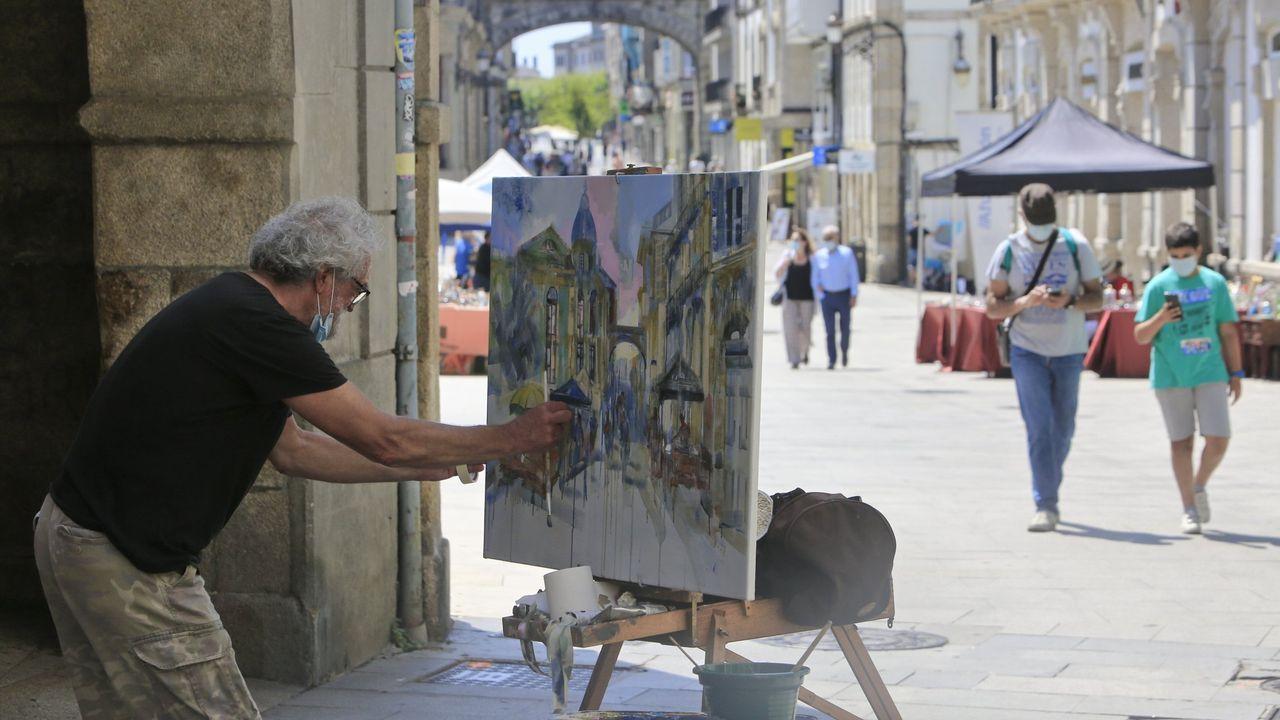 Una de las obras del certamen de pintura rápida al aire libre