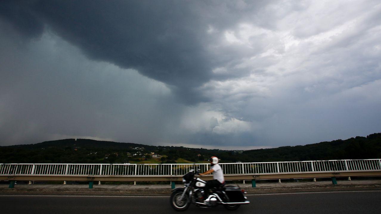 Cielo nublado en Lugo