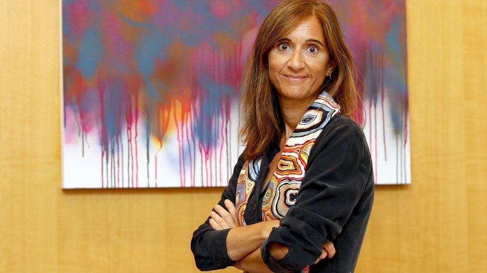Carmen Pomar afronta o seu primeiro curso completo coma conselleira de Educación