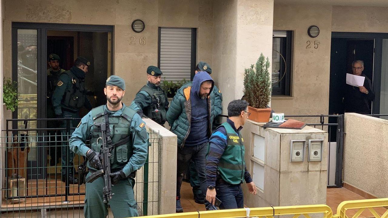 Imagen del supuesto inductor del asesinato de concejal de IU en la localidad asturiana de Llanes, Francisco Javier Ardines González, el 16 de agosto de 2018.
