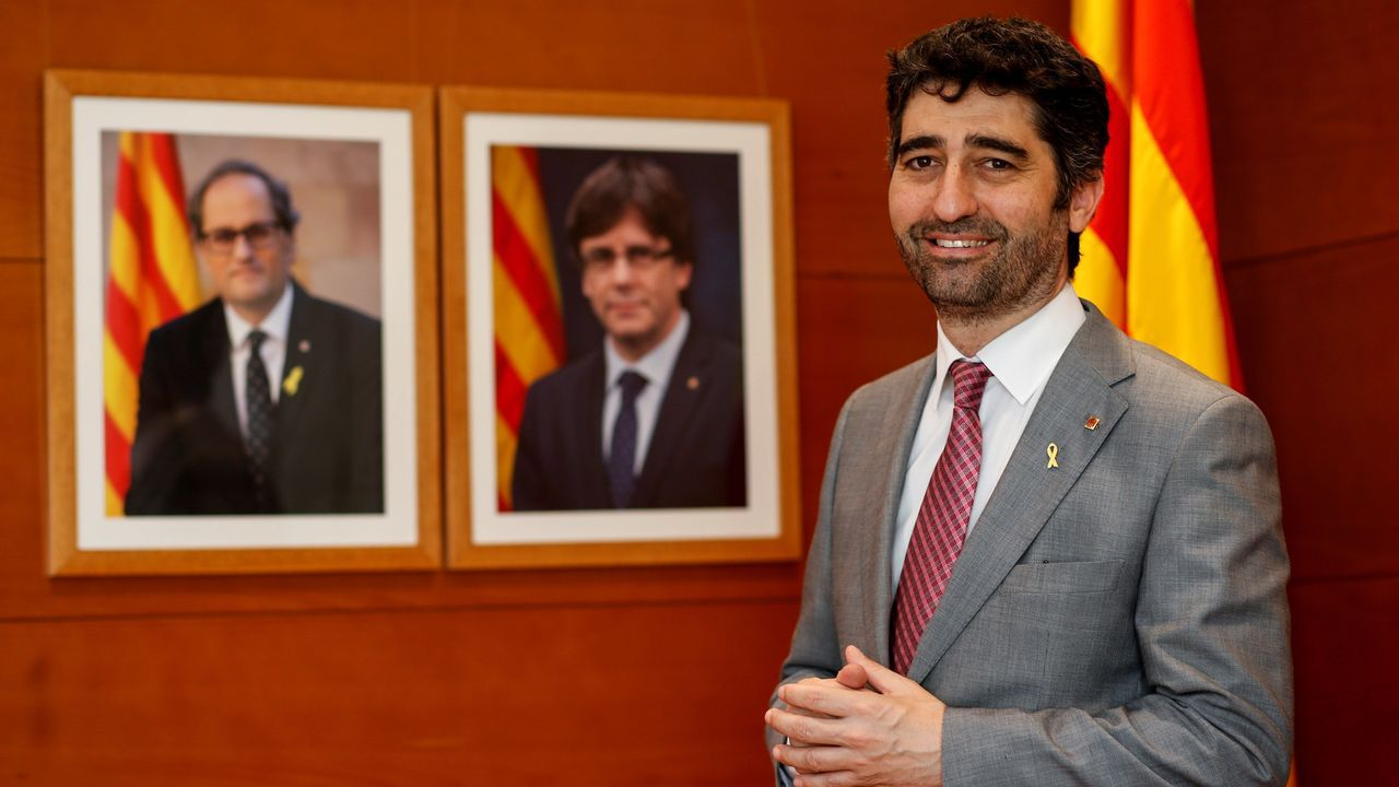El consejero de Telecomunicaciones de la Generalitat, Jordi Puigneró