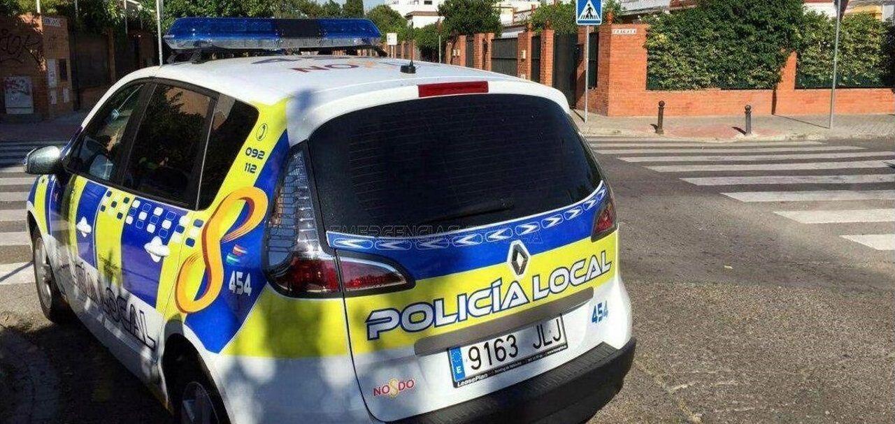 La Policía Nacional frente a la Audiencia de Sevilla