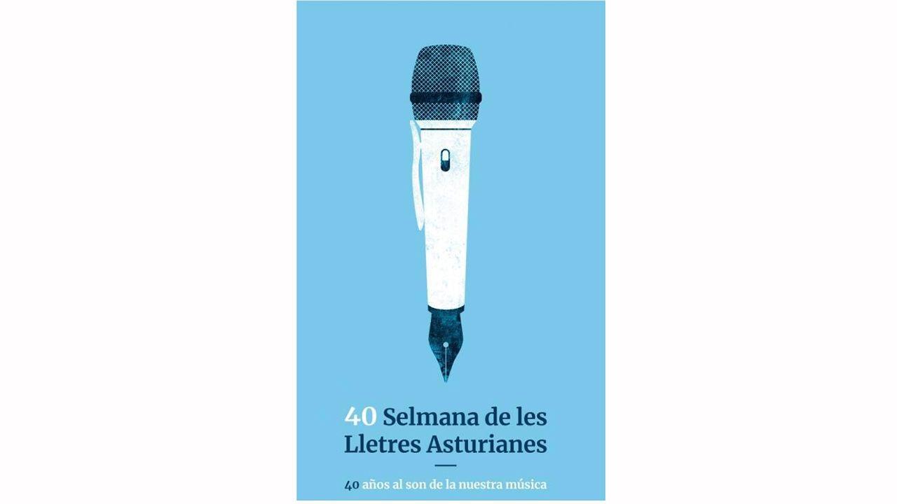 Cartel de la 40ª edición de la Selmana de les Llestres Asturianes