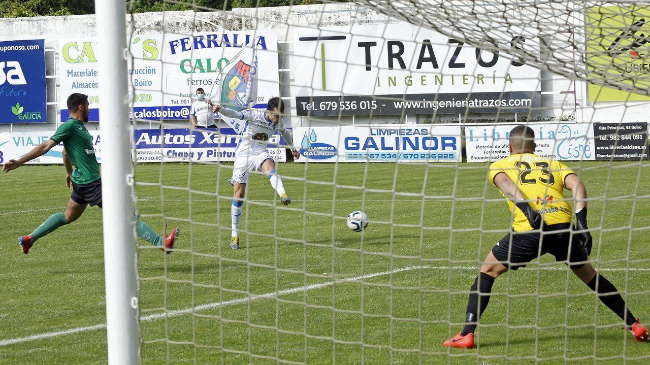 El derbi entre el Noia y el Puebla disputado en el Julio Mato Matito, en imágenes.El Boiro generó muchas ocasiones de gol en la segunda parte