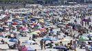 Desde Meteogalicia califican la jornada del domingo como «día de playa»