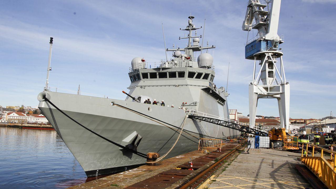 Así es el BAM Furor, el más avanzado de la Armada.Botadura del primer buque de crucero para The Rittz Carlton en los Astilleros Barreras de Vigo
