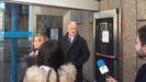 Miguel Reija, delegado de Loterías, tras declarar ante el juez