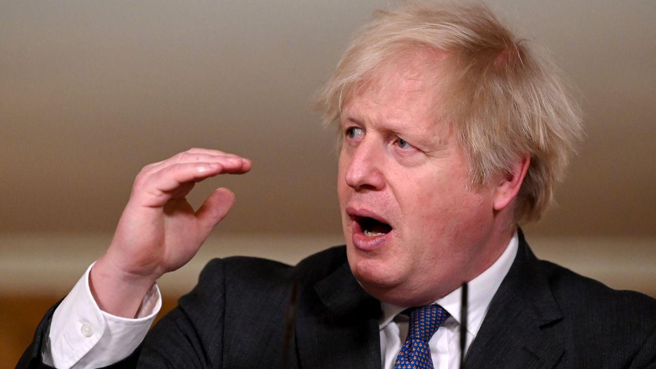 Los famosos que se van de España parapagar menos impuestos.El primer ministro británico, Boris Johnson.