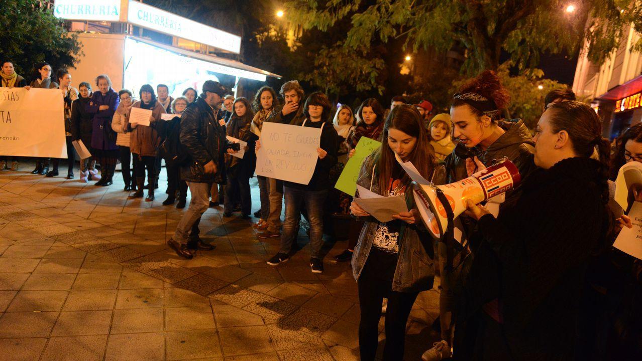 Ourense se echa a la calle contra la violencia de género