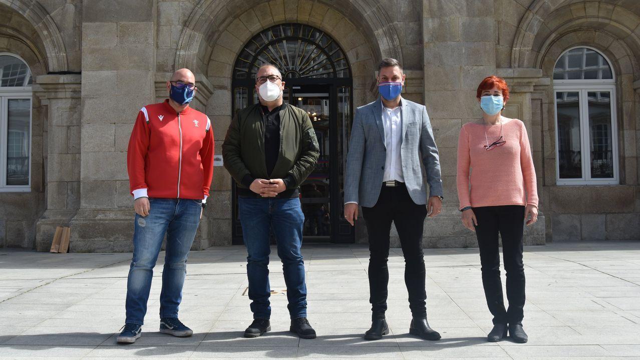 Miembros de la Diputación de Lugo se reunieron con integrantes de Coalición por el Bierzo