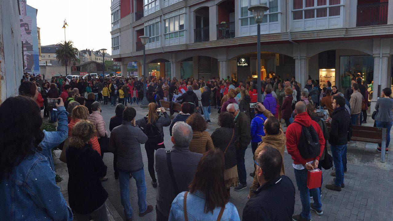 Manifestación en Ribadeo