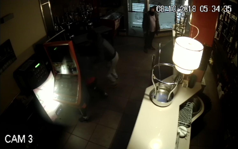 Así efectuaban los robos en bares de Pontevedra y A Coruña.Abejero europeo