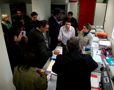 La subasta se llevó a cabo en un juzgado de Vigo.