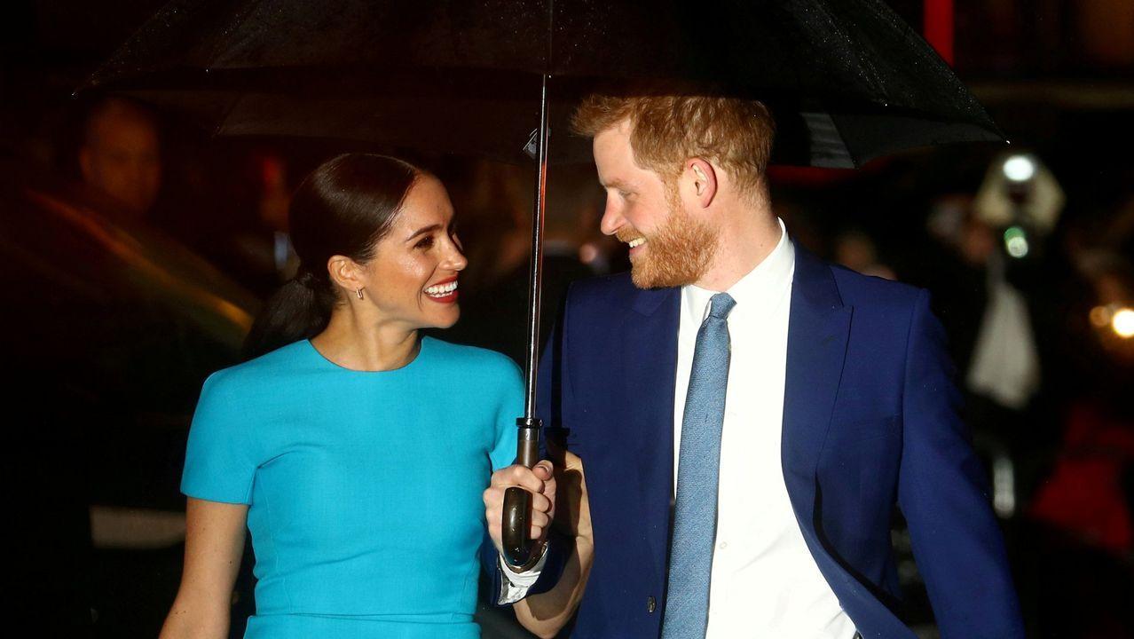 El último adiós al duque de Edimburgo, en imágenes.El príncipe Enrique y la duquesa de Sussex, durante su entrevista con Oprah Winfrey