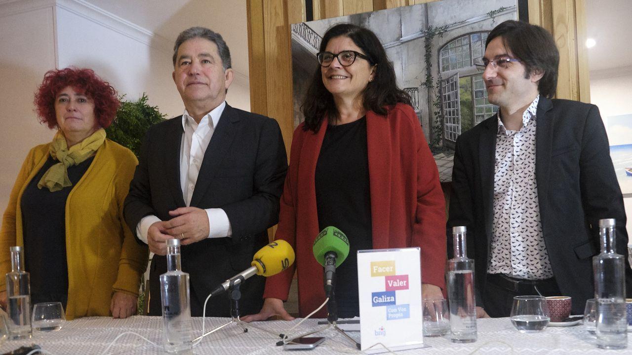 Inés Arrimadas y Albert Rivera, en el Parlament de Cataluña