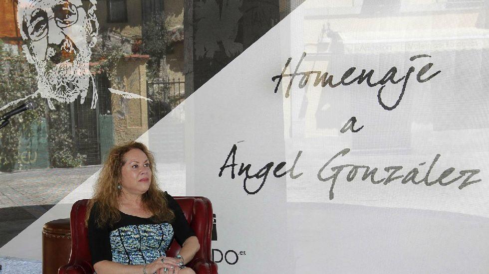 El director de contenidos de la Semana Negra de Gijón, Ángel de la Calle, durante la entrevista.