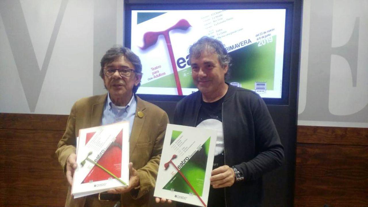 Gascona, sidra, sidrerías,.Presentación del festival «Teatro en Primavera»