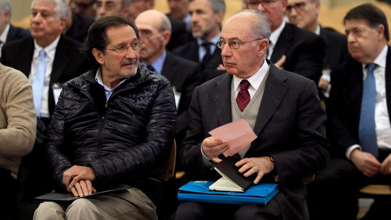 Mariano Rajoy repiten en el Foro La Toja, aunque esta vez en mesas diferentes