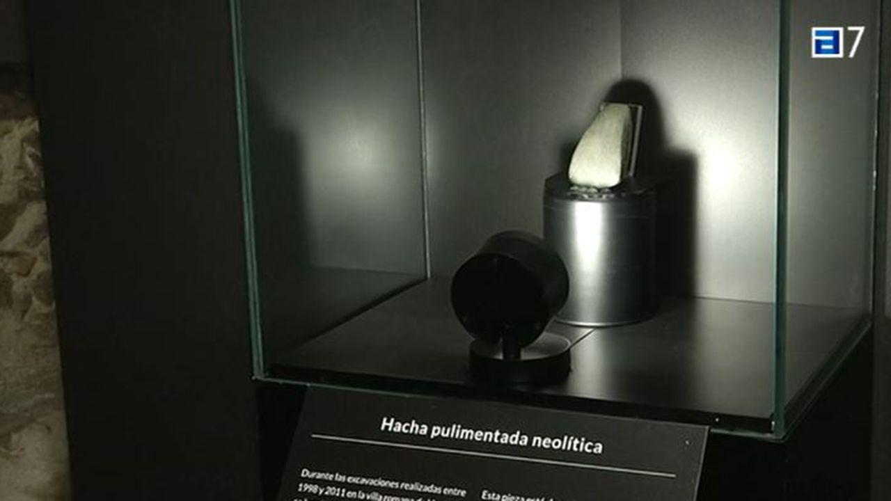 La «Piedra del Rayu» expuesta en Gijón