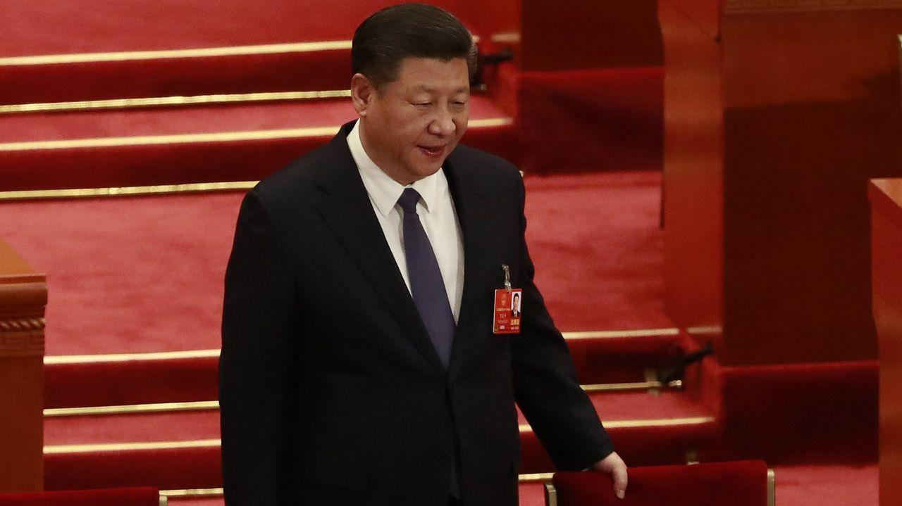 Kim Jong-Un realiza una histórica visita no oficial a China.El presidente chino Xi Jinping