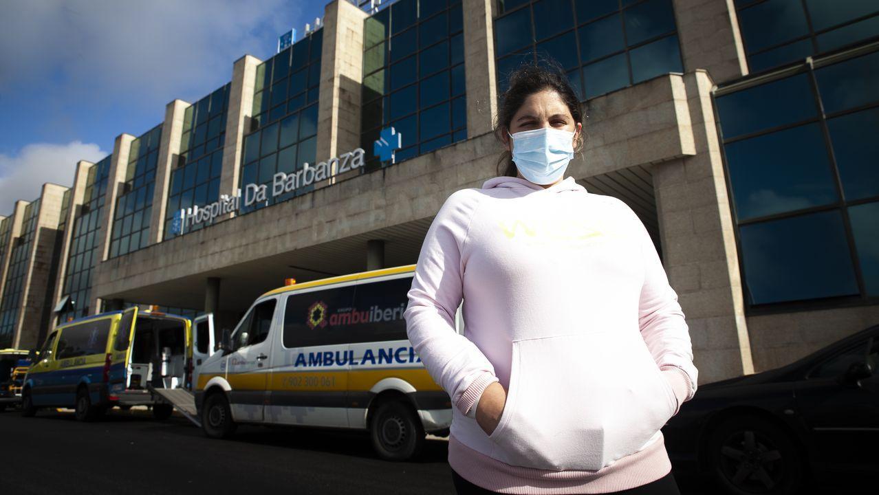Arranca el cribado en el recinto ferial de Amio para identificar casos no diagnosticados de covid-19 en Santiago.Andrea Vila se despierta con pesadillas sobre el parto
