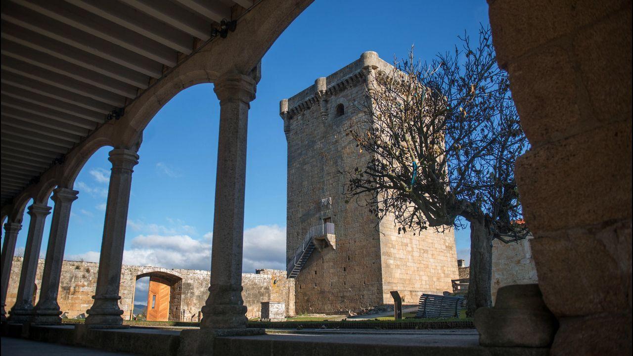 Castillo de Monterrei, Monterrei.