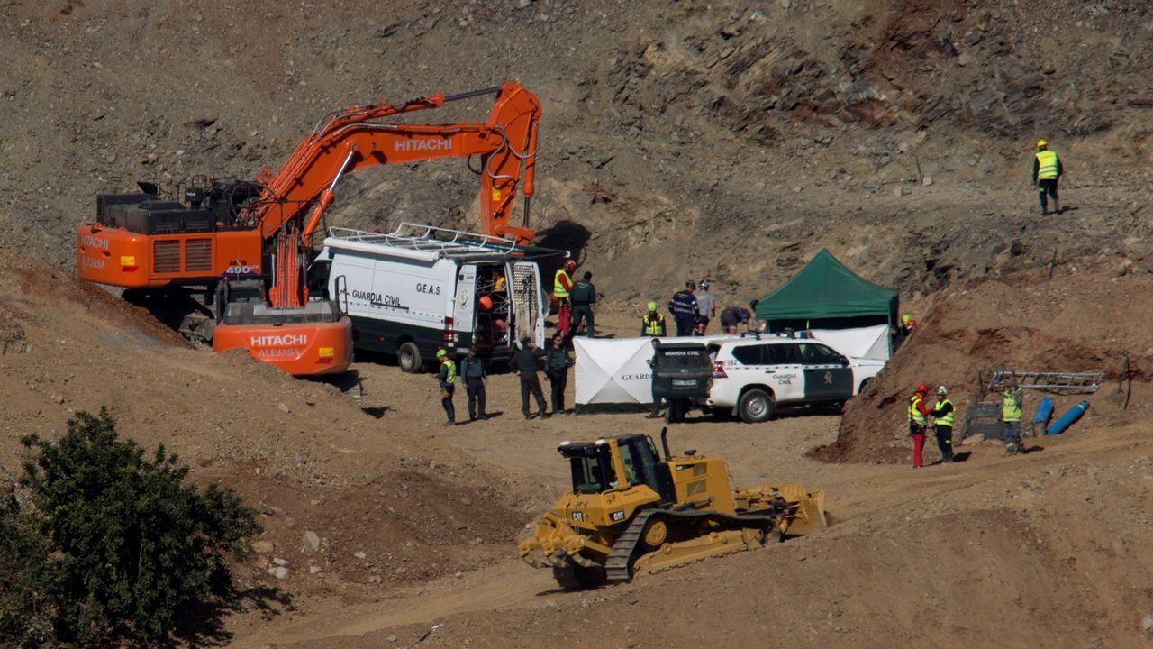 Los ocho mineros asturianos son la élite en rescates en profundidad