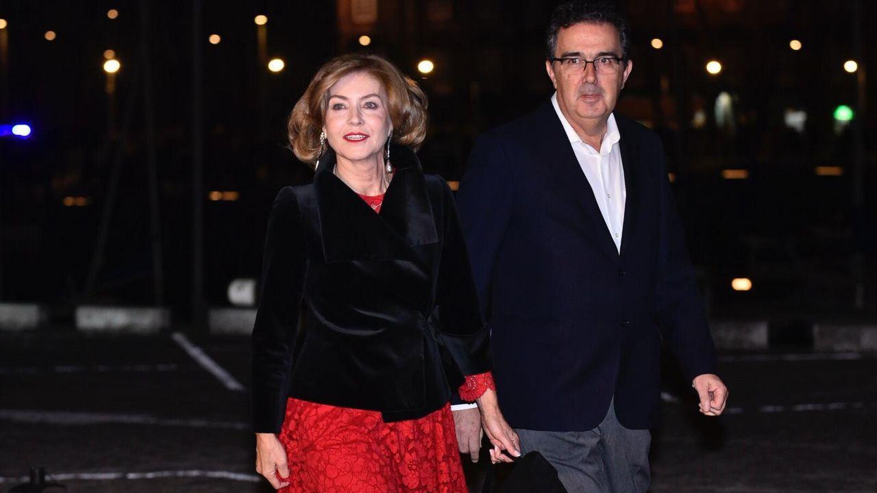 José Arnau, vicepresidente del Consejo de Inditex, y su mujer