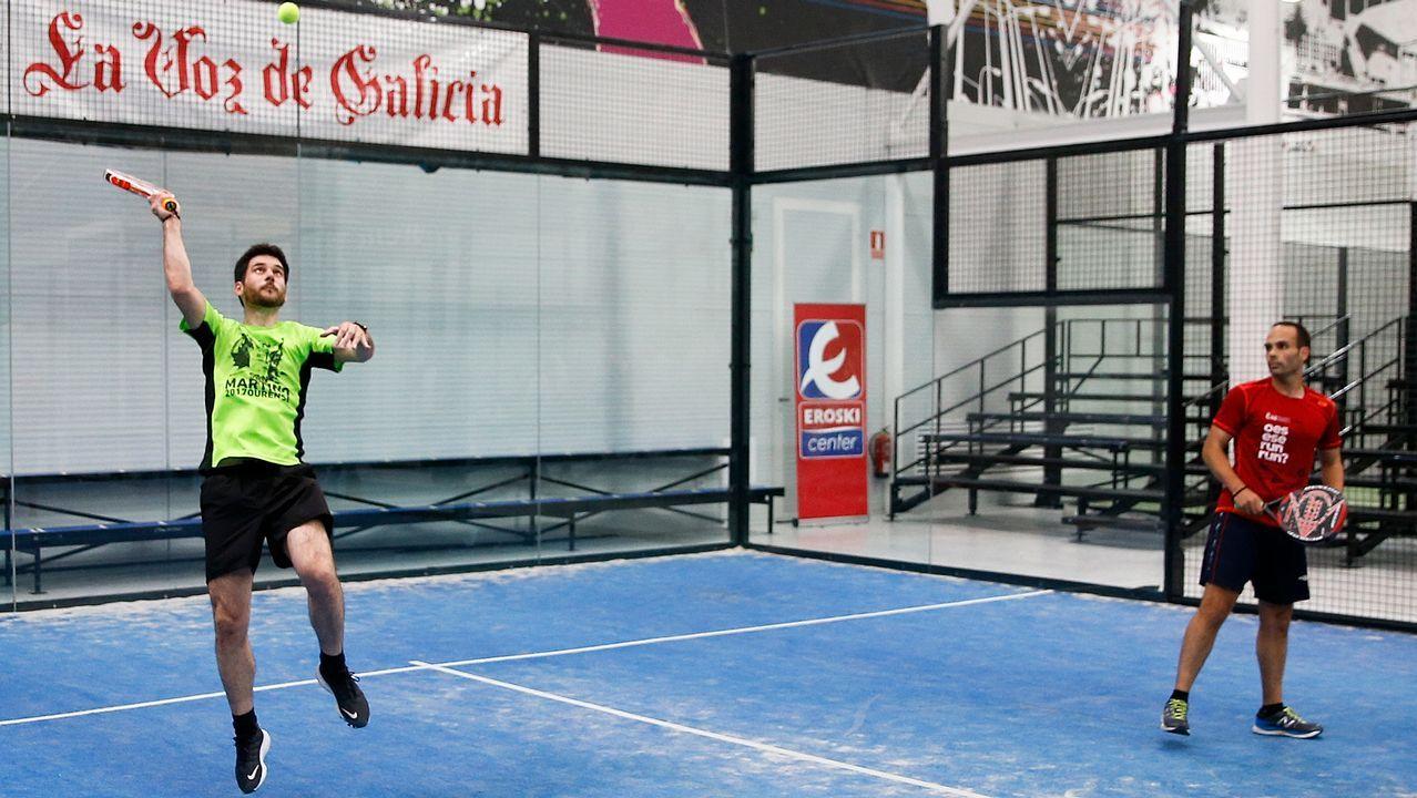 Todas las imágenes del Torneo de Pádel de La Voz de Galicia