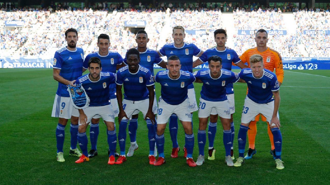 Alineacion Real Oviedo Extremadura Carlos Tartiere.Alineacion del Real Oviedo en el debut liguero frente al Extremadura