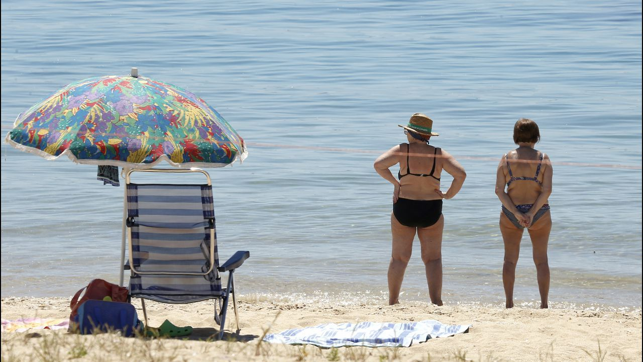 Playa de Coroso, en Ribeira
