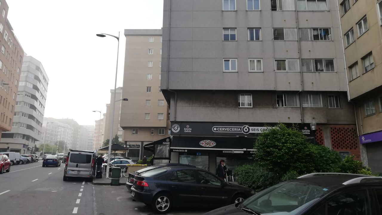 Muere atropellado al auxiliar en un accidente en La Coruña.Benajmin Clementine