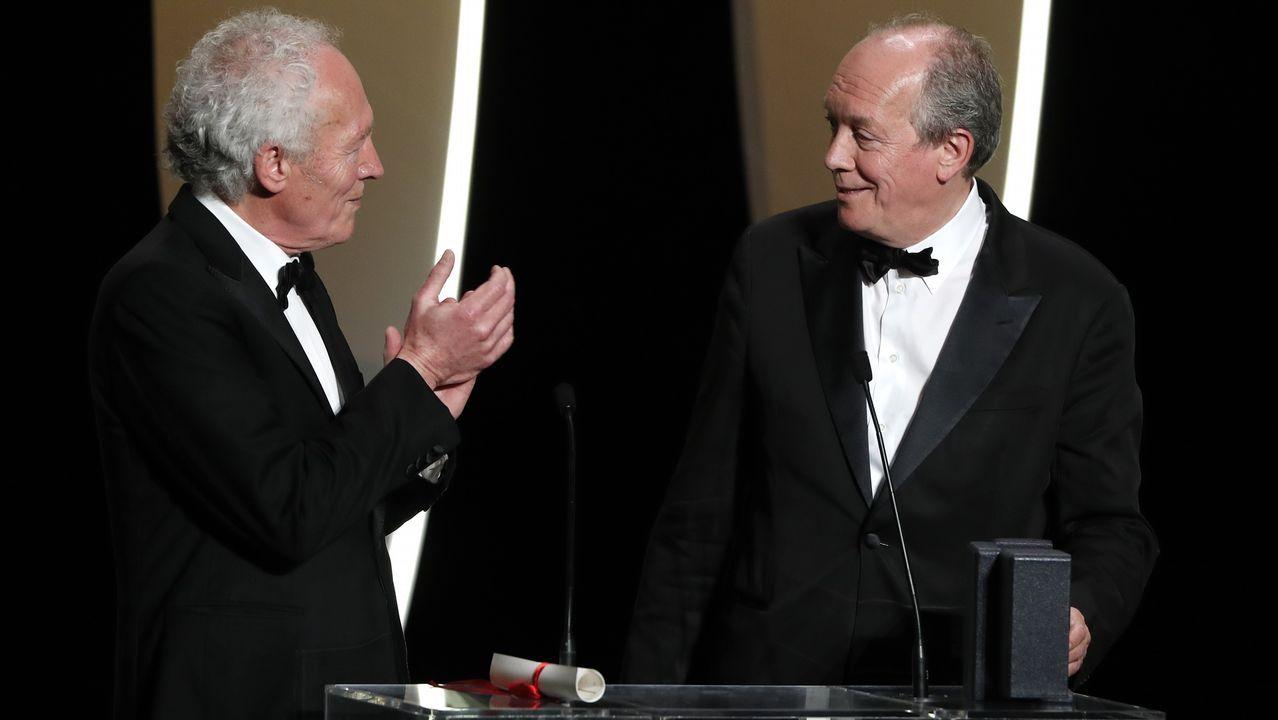 Los hermanos Jean-Pierre y Luc Dardenne, ganadores de la mejor dirección por «Le jeune Ahmed»