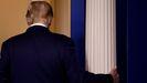 Donald Trump, presidente saliente de Estados Unidos, tras las elecciones de noviembre del 2020