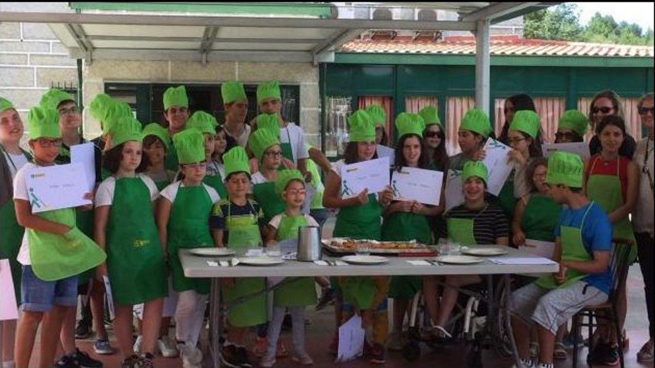 Manjares «de verano» en Ourense