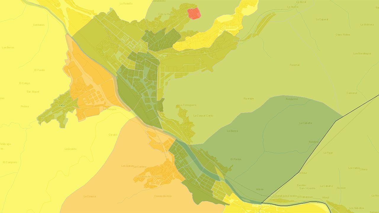 Atlas de Distribución de Renta de los Hogares en Langreo