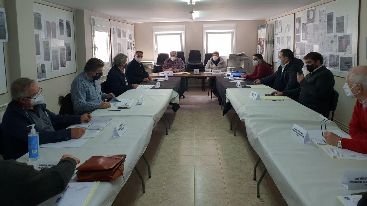 Reunión en Lugo de CoGaVe, que eligió a la federación de Lugo para presidir el movimiento vecinal de Galicia