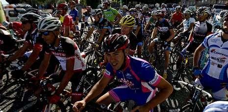 En este primer campeonato mundial de ciclomáster participaron 137 corredores.