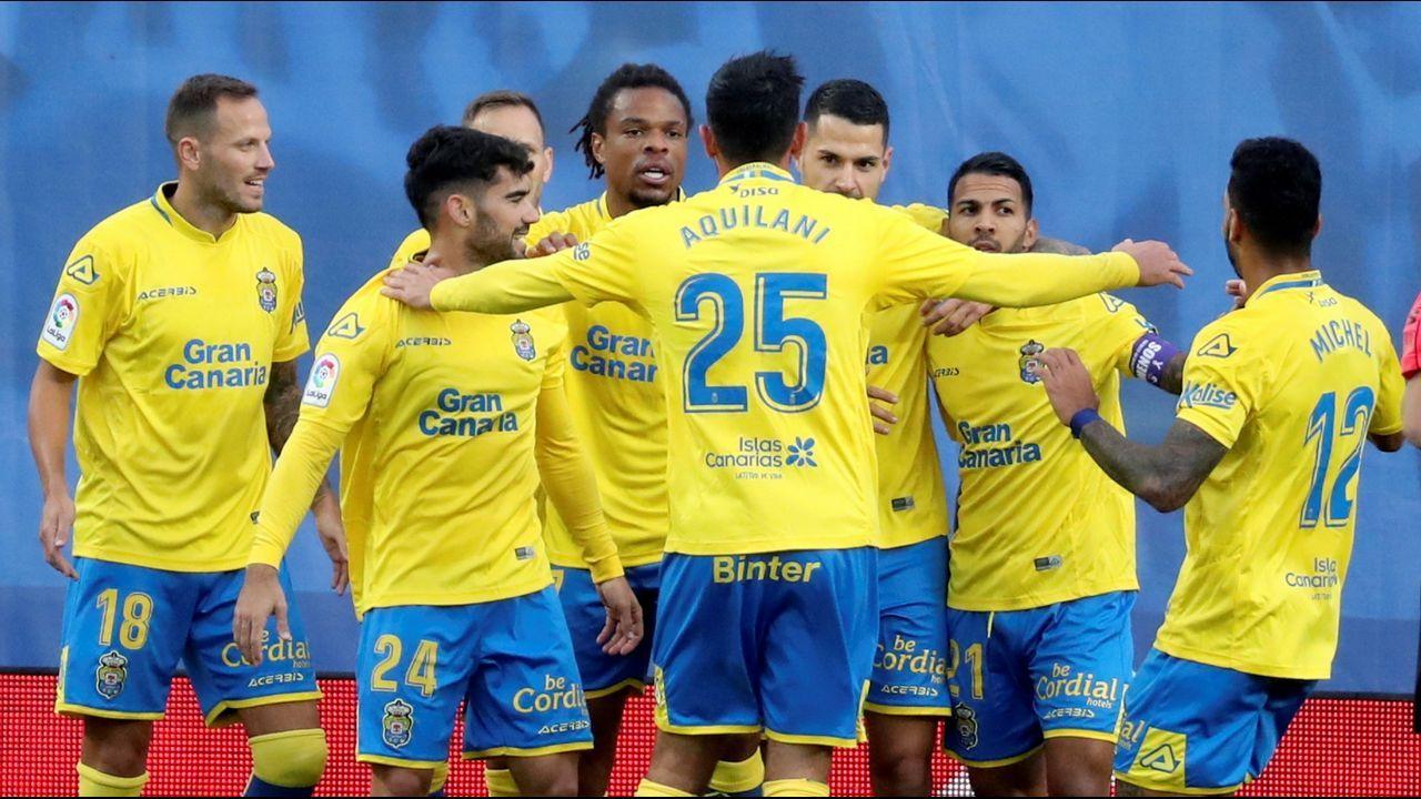 Las Palmas - Deportivo, en imágenes.Carlos Fernández en un Sevilla Atlético-Lugo
