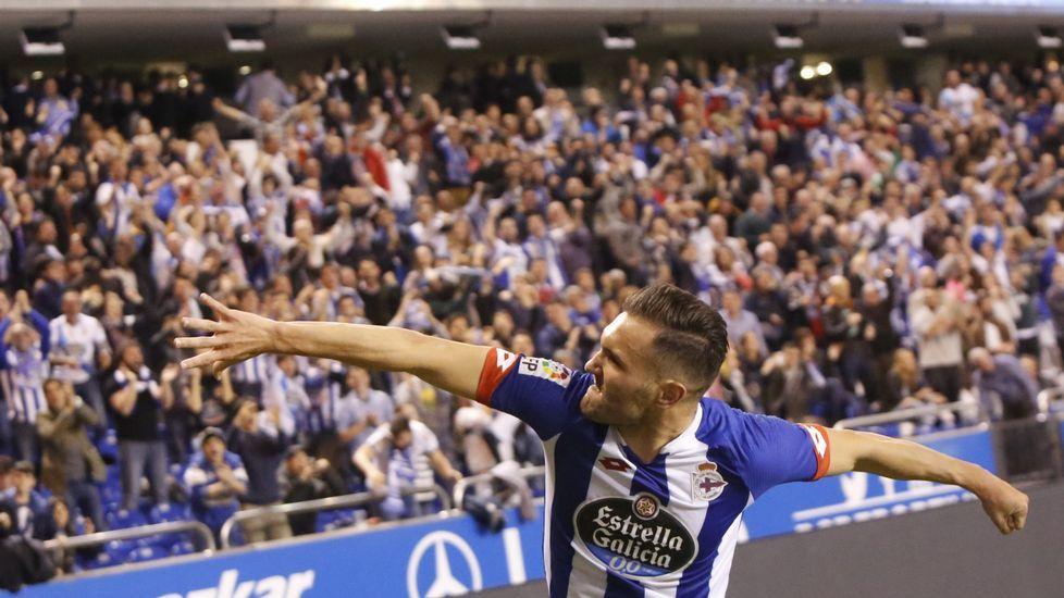 Deportivo - Atlético de Madrid, en imágenes